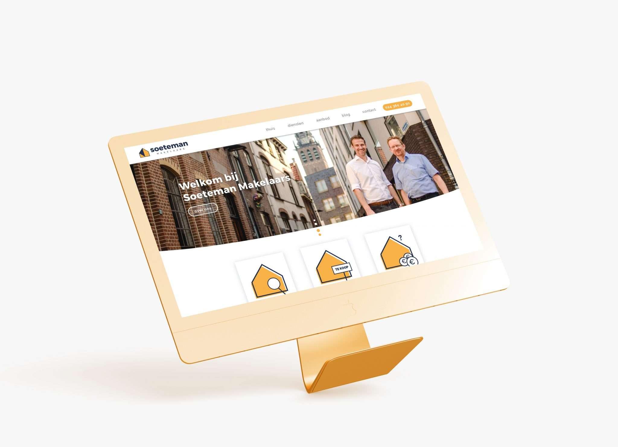 Webdesign in Nijmegen voor Soeteman
