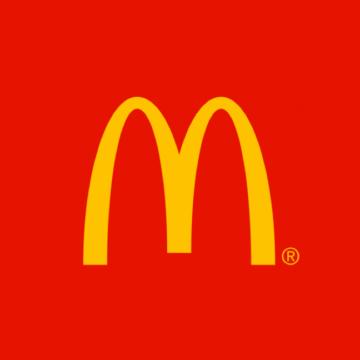 rood logo McDonalds biofilie